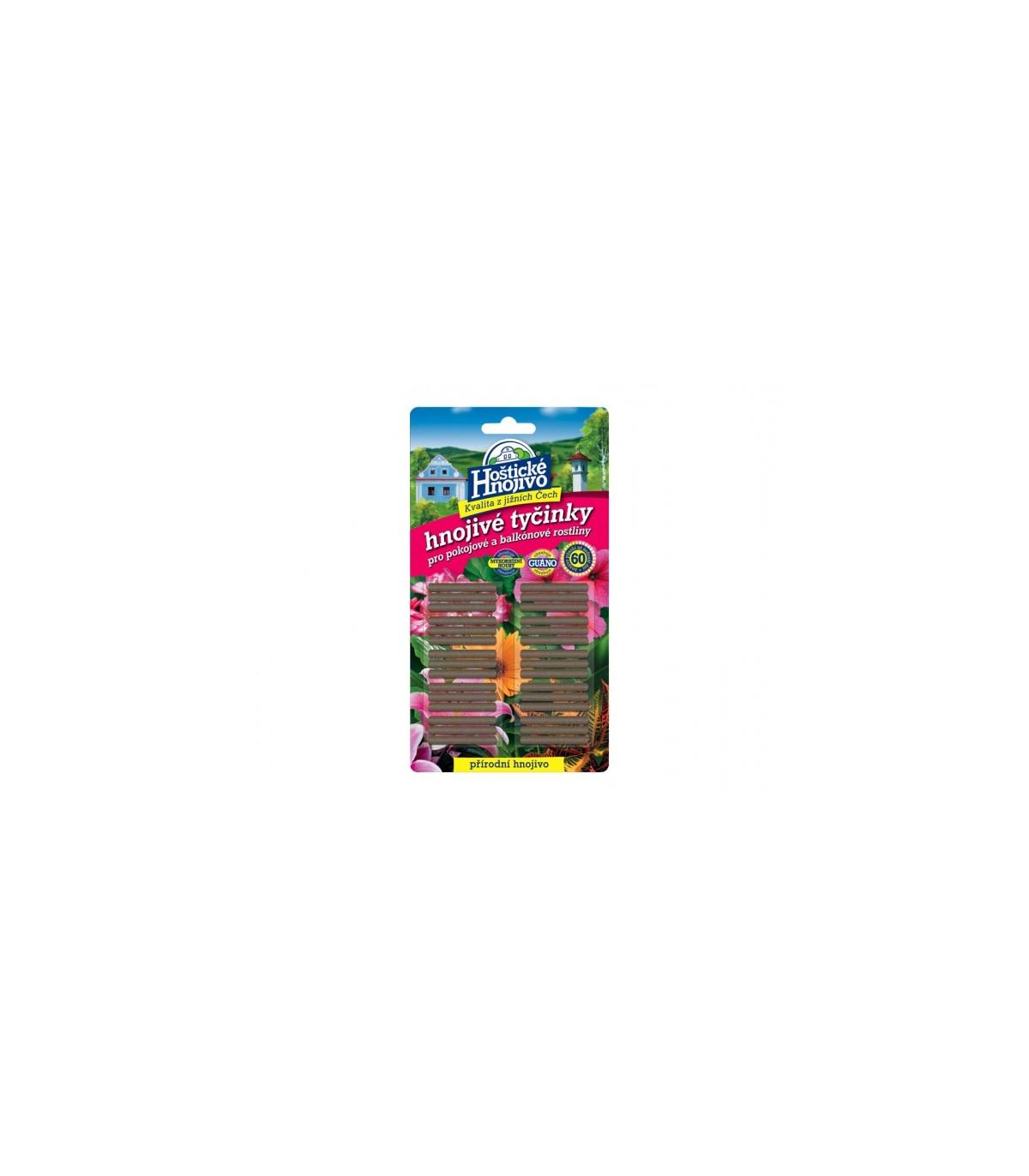 Hoštické hnojivé tyčinky - hnojivo - 30ks