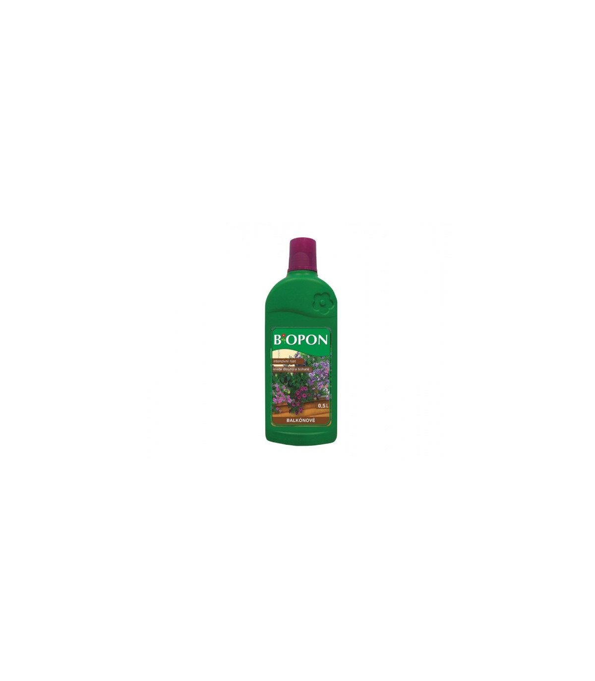 BIOPON kapalné hnojivo pro balkónové rostliny - 0, 5 l