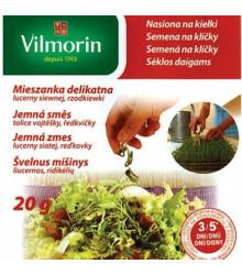 Semena na klíčky - Jemná směs - semena - 20 g