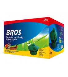 Nástraha na slimáky včetně náplně 2ks -  Bros