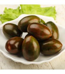 Rajče Černá švestka - Solanum lycopersicum - původní odrůdy rajčat - semena - 6 ks