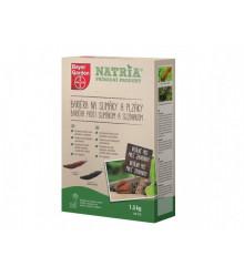 Bariéra na slimáky a plzáky 1,5 kg - NATRIA přírodní produkt
