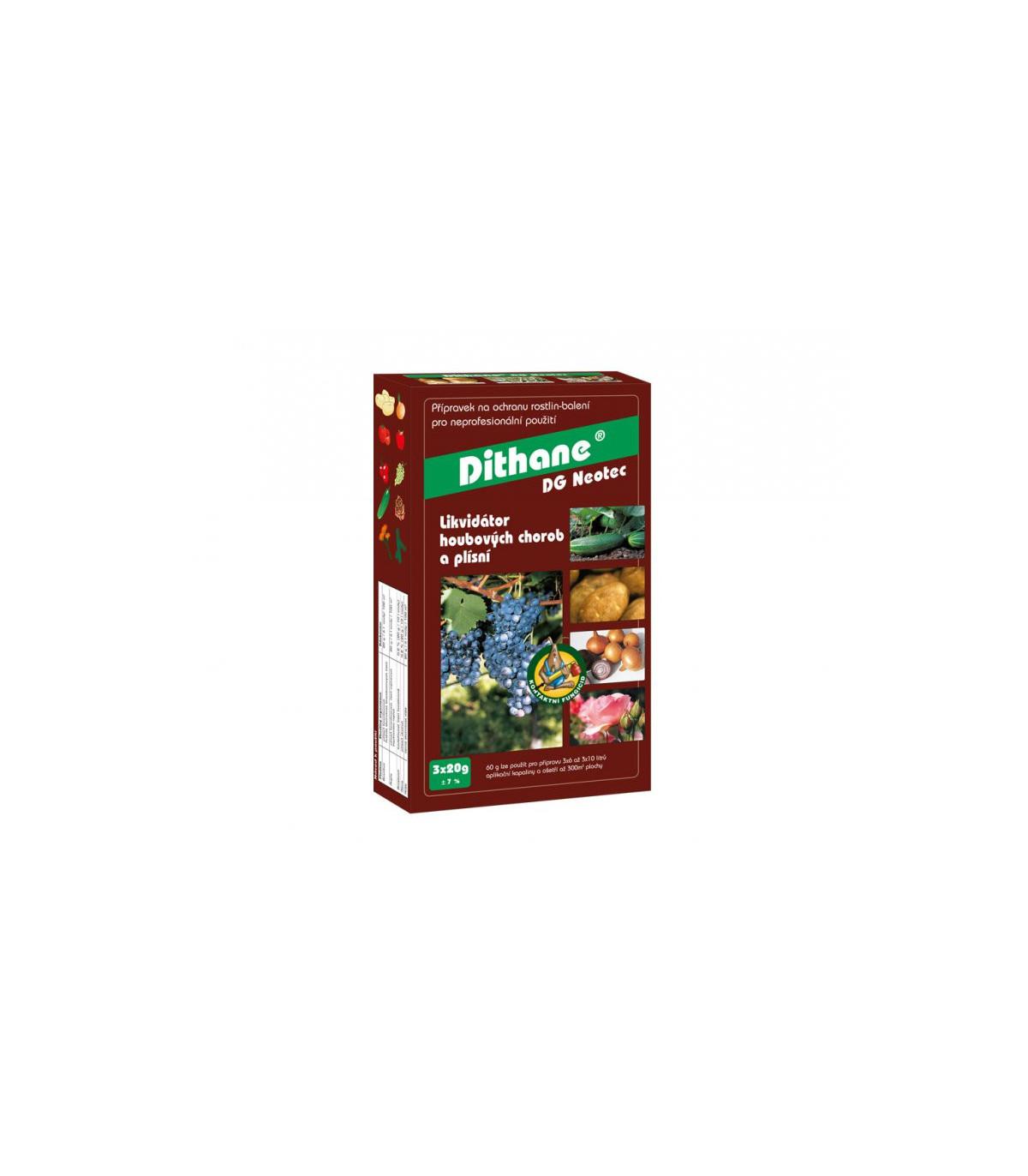Discus 3 x 2 g – ochrana rostlin proti houbovým chorobám - 1 ks