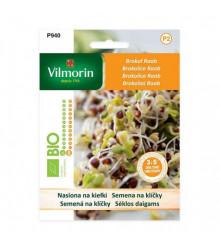 Bio brokolice Raab - bio semena na klíčky - 10 g
