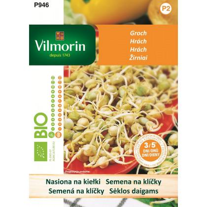 Bio hrách - bio semena na klíčky - 40 g