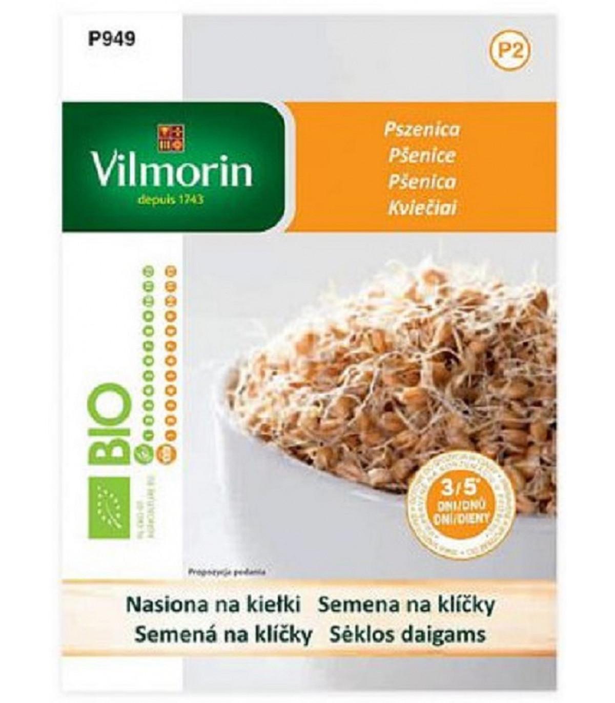 Bio pšenice - bio semena na klíčky - 40 g