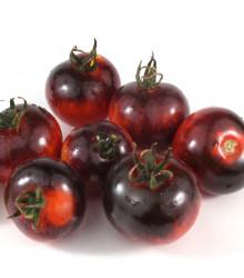 BIO rajče Black Zebra - Solanum lycopersicum - bio semena - 7 ks