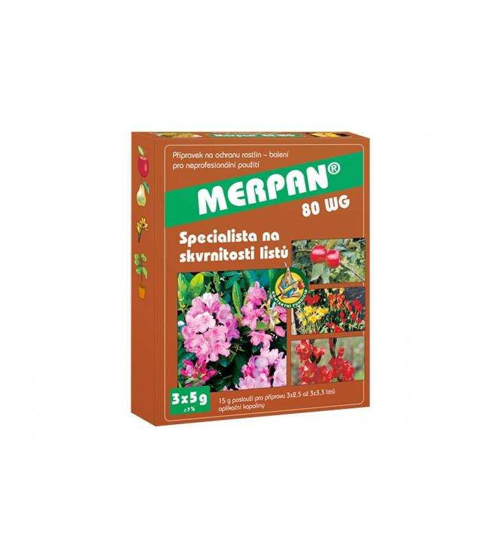 Marpan - fungicid proti bakteriálním a houbovým nemocem - 3 x 5 g