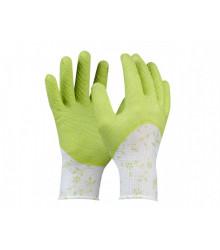 Flower - pracovní dámské rukavice - 1 ks