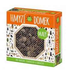 Hmyzí domek malý - domek pro berušky, zlatoočka a broučky - 1 ks