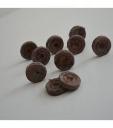 Balení sadbovacích zakořeňovačů - jiffy tablety - 25 mm - výhodné balení 10 ks