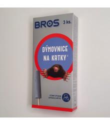 Bros dýmovnice na krtky - ochrana rostlin - 3 ks