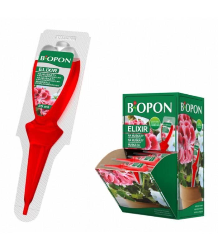 Kapalné hnojivo pro muškáty - Biopon - 35 ml
