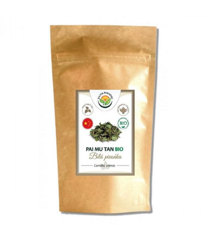 Pai Mu Tan - Bílá pivoňka - bílý čaj - BIO - 120 g