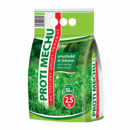 Přípravek proti mechu - ochrana rostlin - Forestina Standard - 2,5 kg