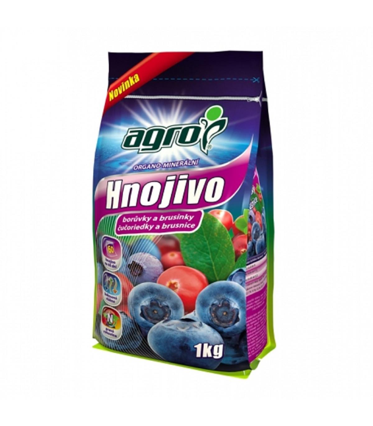 Hnojivo na borůvky a brusinky - Agro - 1 kg
