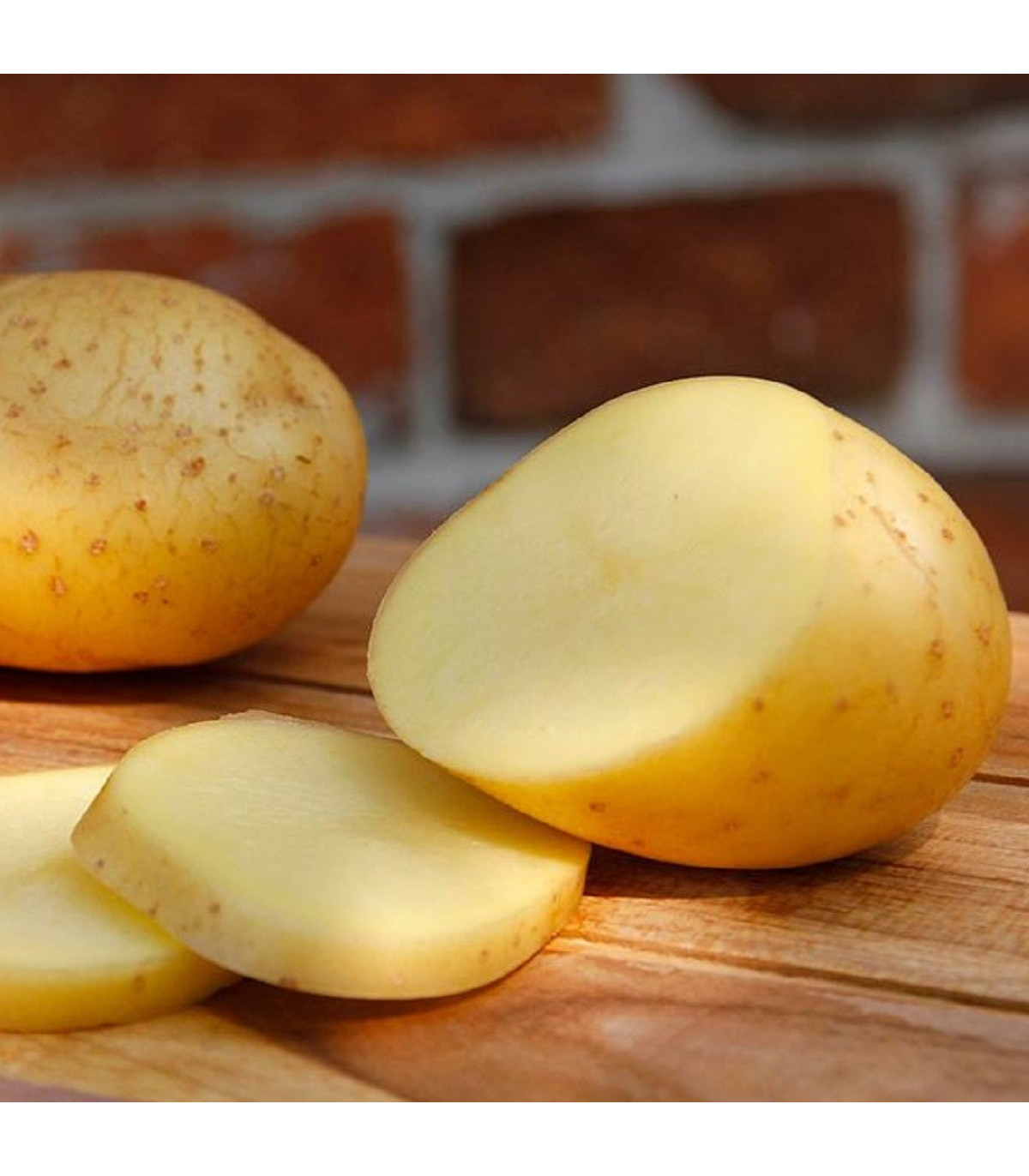 BIO sadbové brambory Belana - Solanum tuberosum - Kiepenkerl - 10 ks