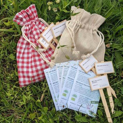 Dárkový balíček semen BIO zeleniny - zdarma dárkové balení