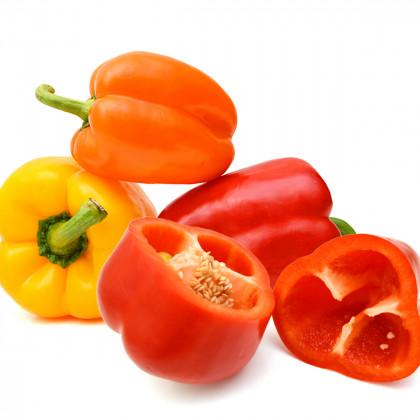 Sladké papriky - nepálivé